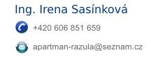 Rychlý kontakt Apartmán Razula